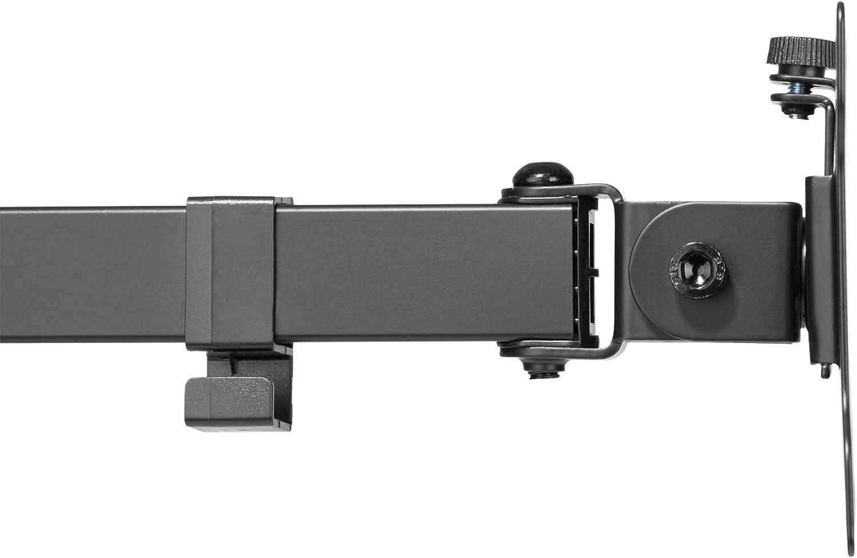 Abrazadera de Mesa DIGITUS Soporte de Monitor hasta 32 Pulgadas 100 x 100 1 Monitor DA-90397 VESA 75 x 75 hasta 8 kg Negro