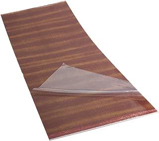 Acoustic Guitar Pickguard Scratch Plate Soft Sheets 18x46cm sapele wood Grain PVC
