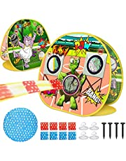 V-Opitos Bean Bag Toss Game, Outdoor Toys for Kids Age of 2,3,4,5,6 Year Old Boys & Girls, Double Side Game Set with 8 Beanbags & Storage Bag, Ideal Birthday Party Outdoor Games Supplies