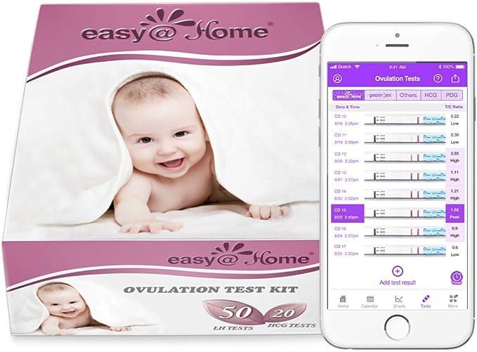 44990 opinioni per Easy@Home 50 Test Ovulazione e 20 Test