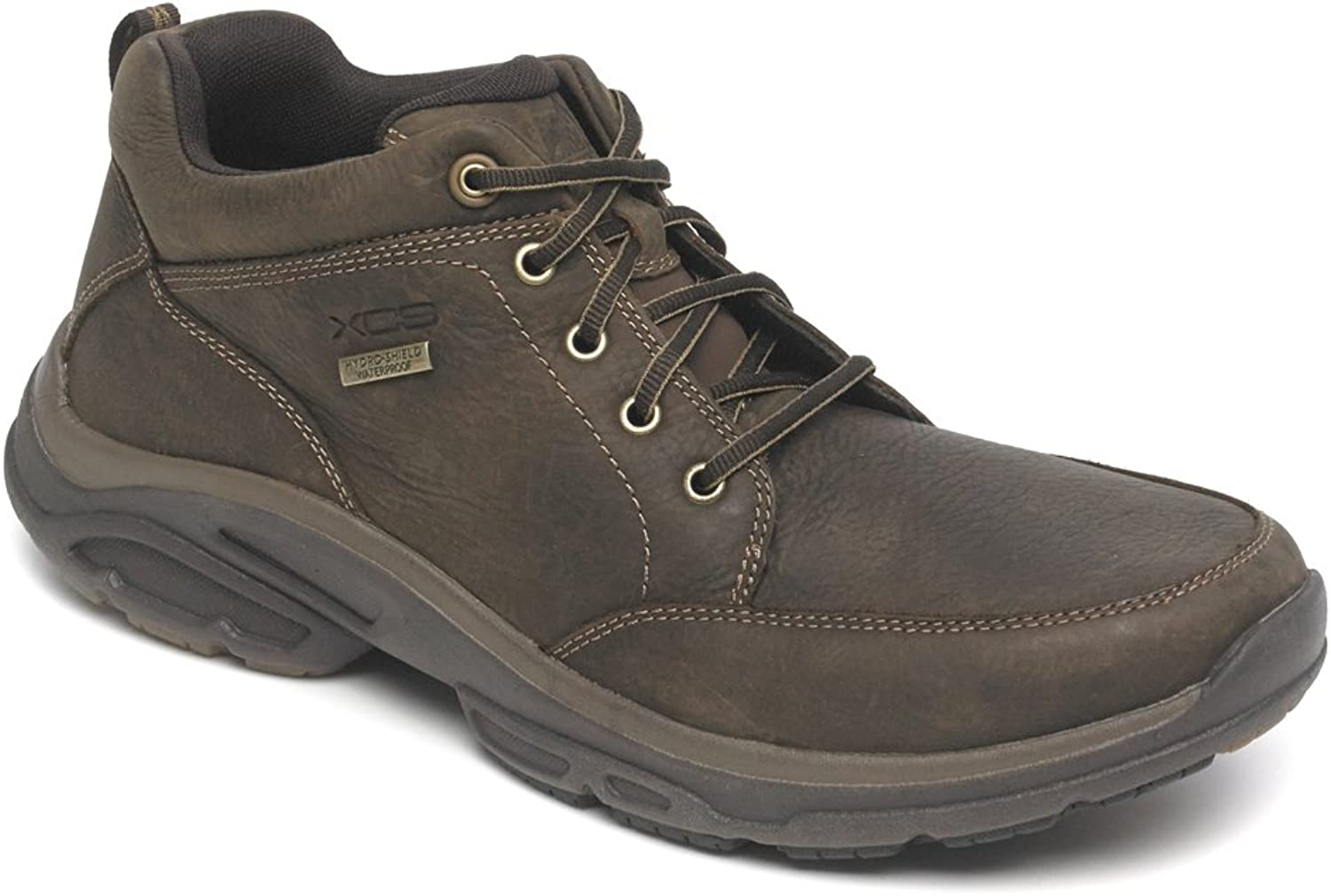 Rockport XCS Mens Weather Adventure Mudguard Boot shoes, Cafe, US 7