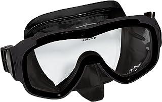 Aqua Lung Visage Dive Mask (Black/Black)