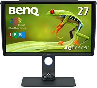 ベンキュージャパン BenQ27型カラーマネジメントモニターSW270C(WQHD/IPS/AdobeRGB99%/DisplayP397%/HDR/USB-C/60W給電/HWキャリブレーション/ムラ補正/遮光フード)