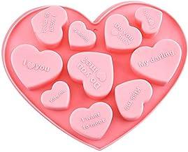 Liangwan Muffin Tray Siliconen Chocolade Mallen Bakvormen Bakvormen Bakgereedschap Lade Mould,Roze