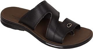 BATA Men Black Slip On Sandal Chappal