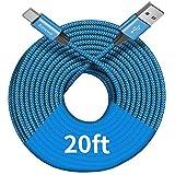 [ 20ft/6m ] Extra Long USB C C...