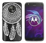 Coque Motorola Moto X4, Yayago Coque de protection ultra-fine (0,8mm) pour Motorola Moto X4 silicone...