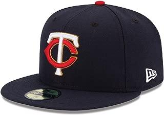 【メーカー取次】 NEW ERA 59FIFTY MLB On-Field ミネソタ・ツインズ ネイビー 11449361