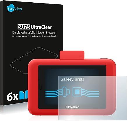 Savvies Pellicola Protettiva compatibile con Polaroid Snap Touch Protezione Schermo [6 Pezzi]