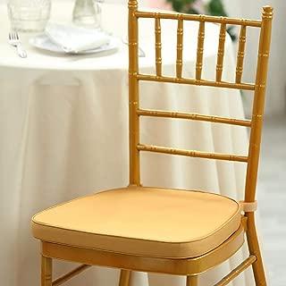Efavormart Chiavari Chair Cushion Chair Pad with Attachment Straps - 2