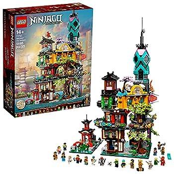 LEGO NINJAGO NINJAGO City Gardens 71741 Building Kit  Ninja House Playset Featuring 19 Minifigures New 2021  5,685 Pieces