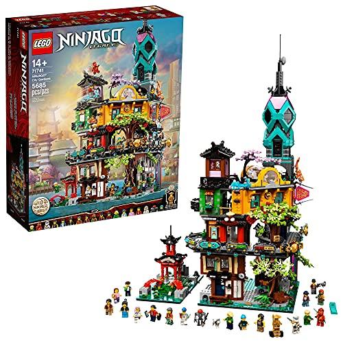 LEGO NINJAGO NINJAGO City Gardens 71741 Building Kit; Ninja House Playset Featuring 19 Minifigures, New 2021 (5,685 Pieces)