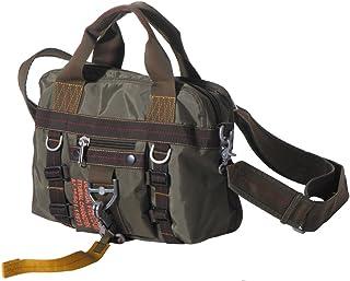 Pure Trash HANDTASCHE Tasche Bag Umhängetasche Schultertasche Nylon olivgrün klein TOP