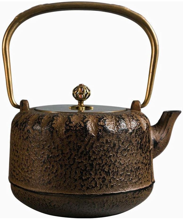 2021 model Infuser Teapot Ceramics Retro Cast Tea Iron Stove Award-winning store Set