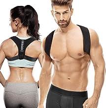 Posture Corrector for Men Women, Adjustable Upper Back Brace Posture Trainer, Back Support & Pain Relief for Neck Shoulder...