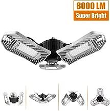 Garage Lighting 80W, Led Garage Lights 8000lm, E26 Garage Light, LED Garage Ceiling Lights, Led Shop Lights, Workshop Light, Garage led Bulbs, Super Bright led Bulbs Light (Daylight, 80W