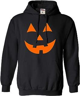 Adult and Youth Jack O Lantern Pumpkin Face Halloween Funny Sweatshirt Hoodie