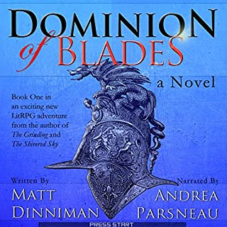 Dominion of Blades audiobook cover art