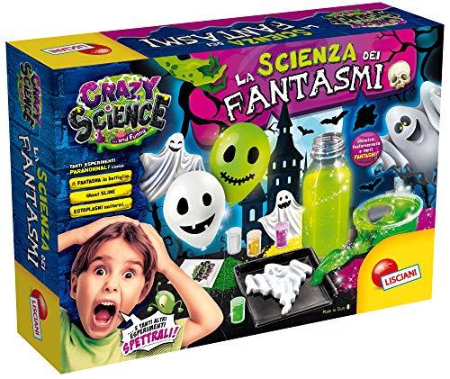 Lisciani Giochi- Crazy Science Laboratorio la Scienza dei Fantasmi, Multicolore, 73078