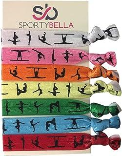 Infinity Collection Gymnastics Hair Ties- Girls Gymnastics Hair Accessories- Gymnastics Elastics for Gymnast