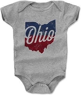 Ohio Baby Clothes & Onesie (3-24 Months) - Ohio Silhouette Type