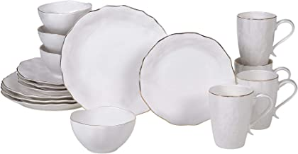 Certified International 23276RM Elegance 16 piece Dinnerware Set, Service for 4, Multicolored