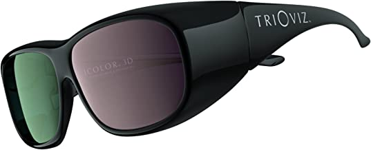 INFICOLOR 3D Eyewear. The Official 3D Glasses Compatible with Batman Arkham City and Assassin's Creed Revelations on HDTV.