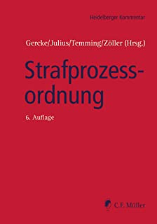 Strafprozessordnung (Heidelberger Kommentar) (German Edition)
