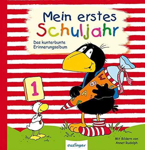Mein erstes Schuljahr: Das kunterbunte Erinnerungsalbum (Der kleine Rabe Socke)