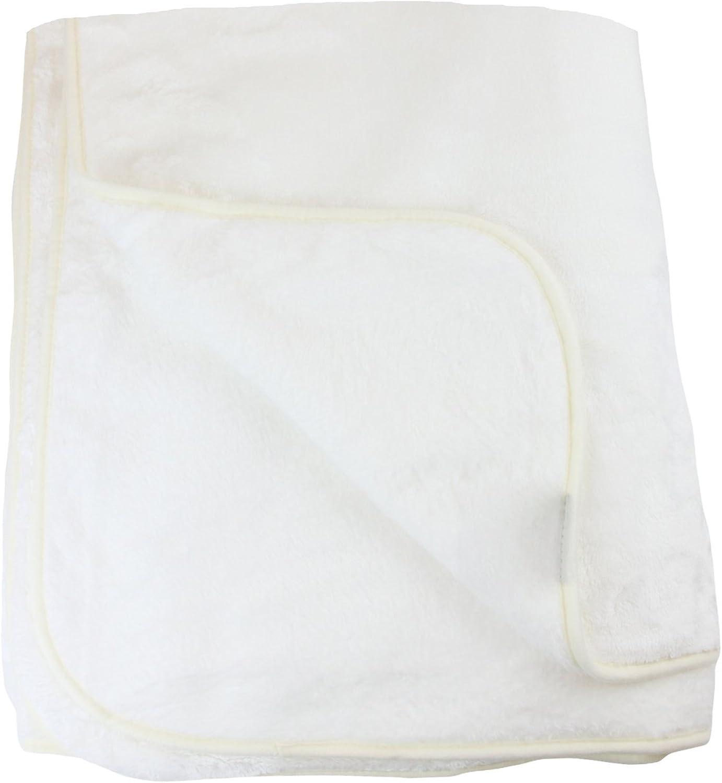Amago Manta de sofá, Sensación de Cachemira, blancoo lana, 220 x 240 cm, 40024-00-2040