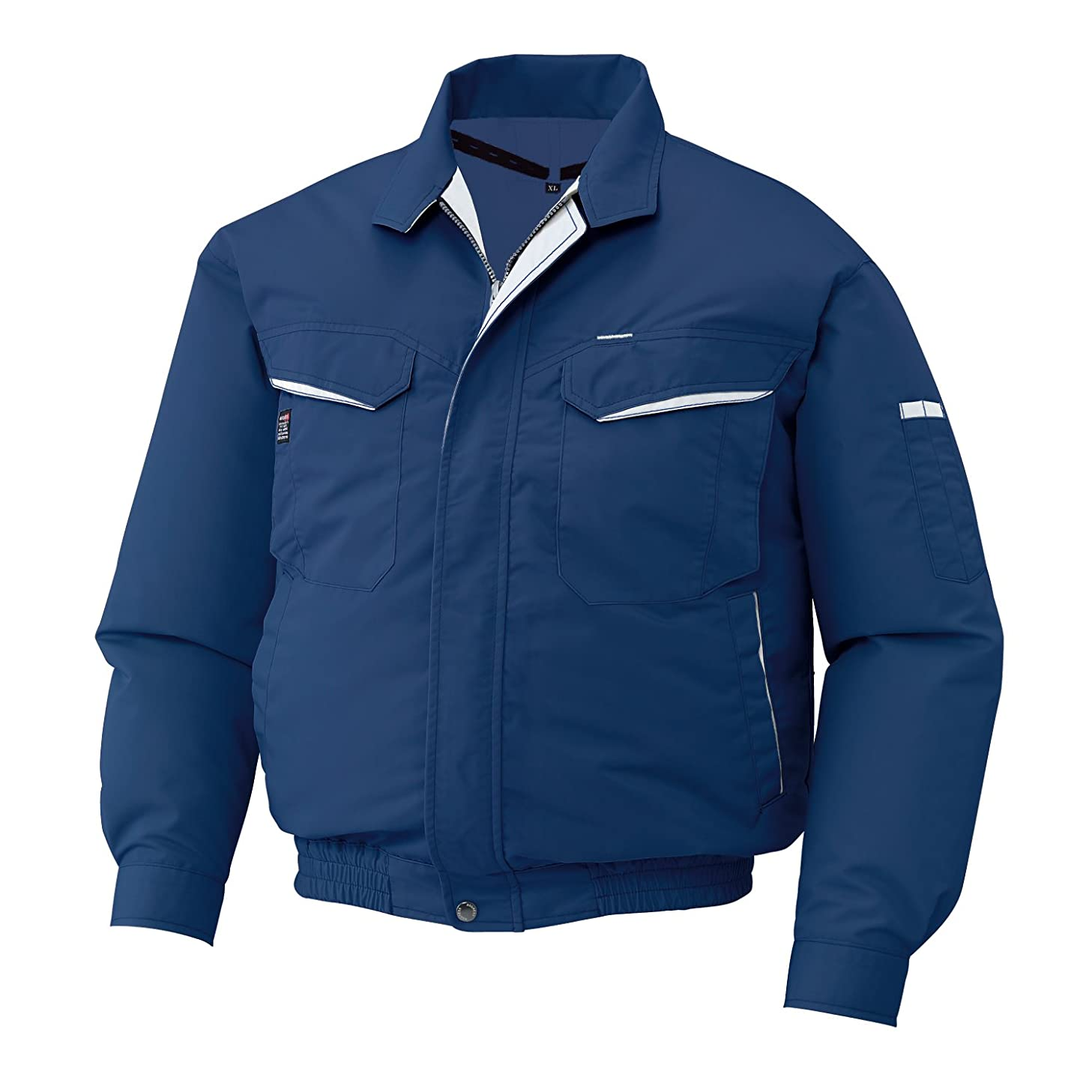 反論シーフード少なくともサンエス 空調服 空調風神服 長袖ワークブルゾン 服のみ KU90470