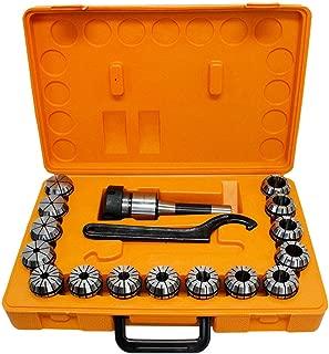 PROLINEMAX 15 Pc 1-/8'' - 1'' Collet Set R8 ER40 Shank Chuck Holder CNC Milling Lathe