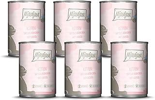 MjAMjAM - Pienso acuoso para gatitos - Comida para gatitos de pollo jugoso refinado con aceite de salmón - Sin cereales - ...