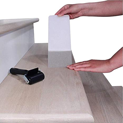 5 cm x 63 cm transparent 15 x bandes antid/érapantes escalier les bords les planchers Protection et plus de s/écurit/é pour les escaliers auto-adh/ésif SCALIO Sossai