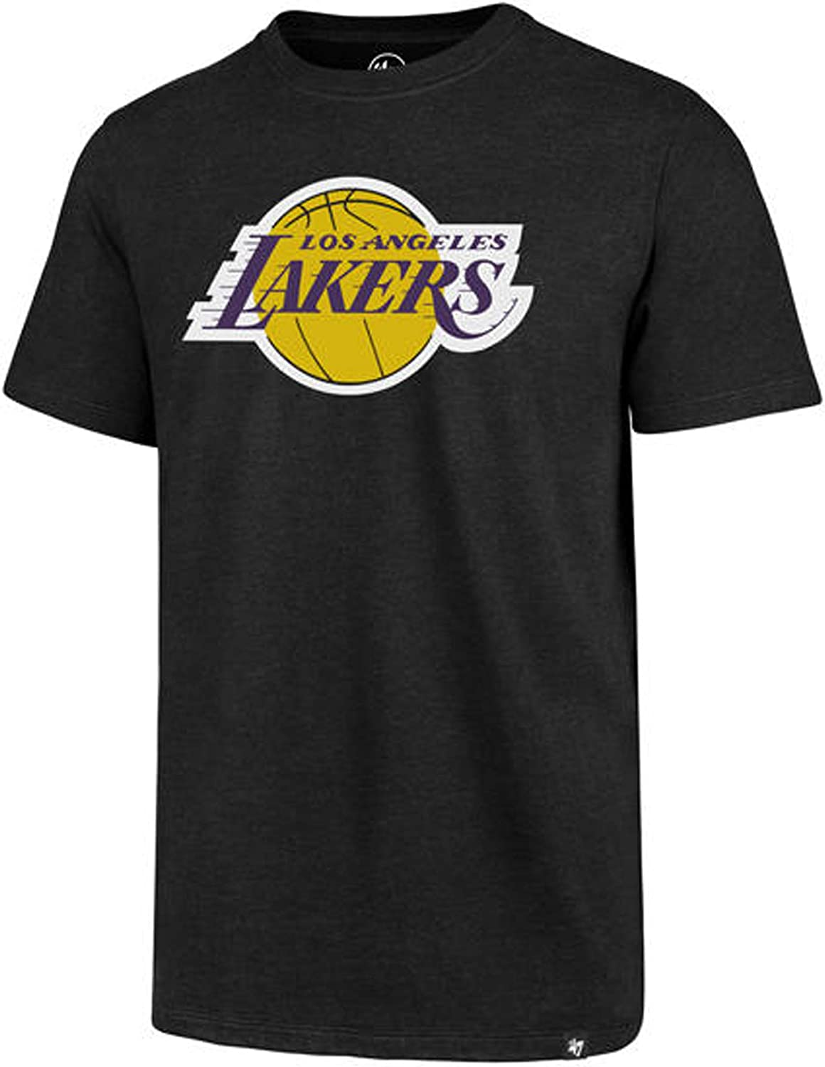 47 Brand Los Angeles Lakers Unisex Club Primary Logo T-Shirt