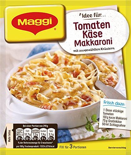 Maggi Fix fürTomate - Käse Makkaroni, 40er Pack (40 x 39 g)