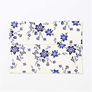 GYHS 5pcs Little Fresh Flowers Envelopes Wedding Party Postcard Invitation Card Paper Bags Letter Paper Cover Christmas Gi...