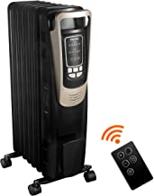 PELONIS 2019 Oil Filled Radiator Heater Luxurious Champagne Portable Space Heater with..