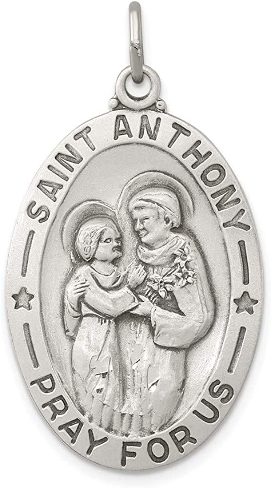 Minneapolis Mall Ryan Jonathan Fine Jewelry Sterling Silver Rapid rise Saint Anthon Antiqued
