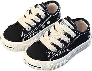 [snofiy] スニーカー 男の子 女の子 キャンバススニーカー キッズ 子供靴 通気性 耐磨性 歩きやすい スポーツ 通学 滑り止め