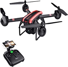 SANROCK X105W Drone with 720P HD Camera for Beginners and Kids, RC Quadcopter with Altitude Hold, Gravity Sensor, RTF One Key Take Off/Landing, Compatible w/VR Headset