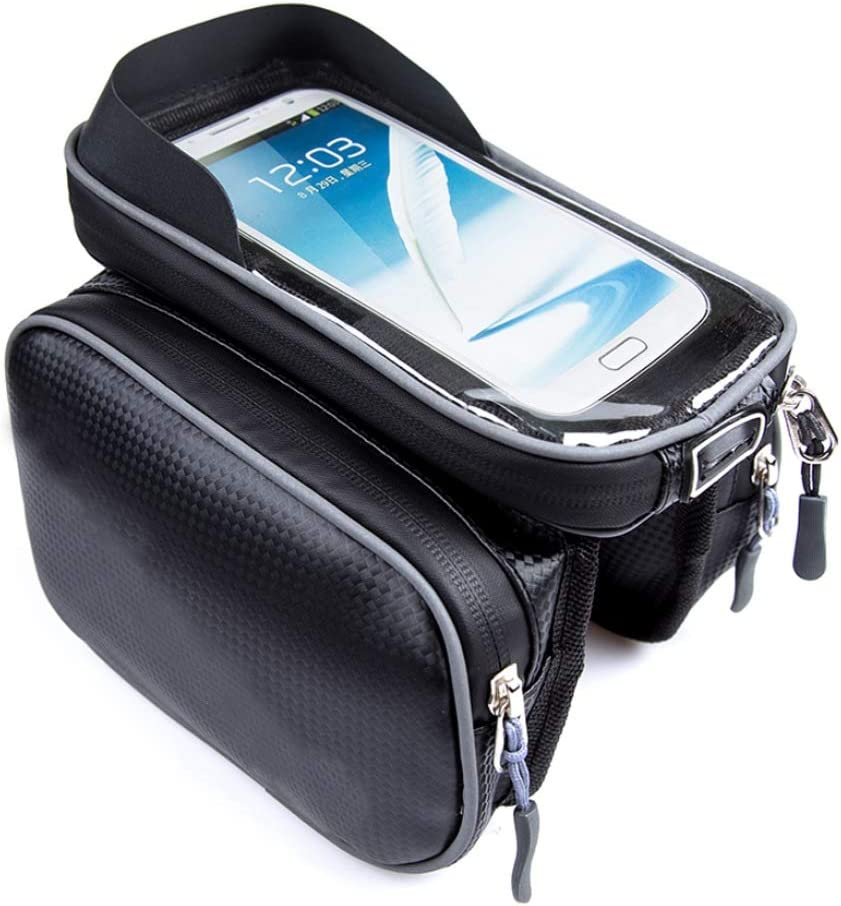 Tampa Mall Bike Bag Front Mail order Frame Waterproof Handlebar Pouch Bags Large