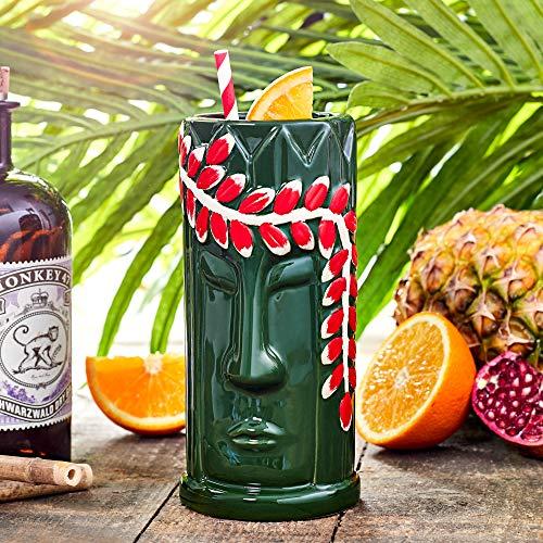 Lei Tiki Becher 520 ml – Keramik Hawaiian Cocktail Becher