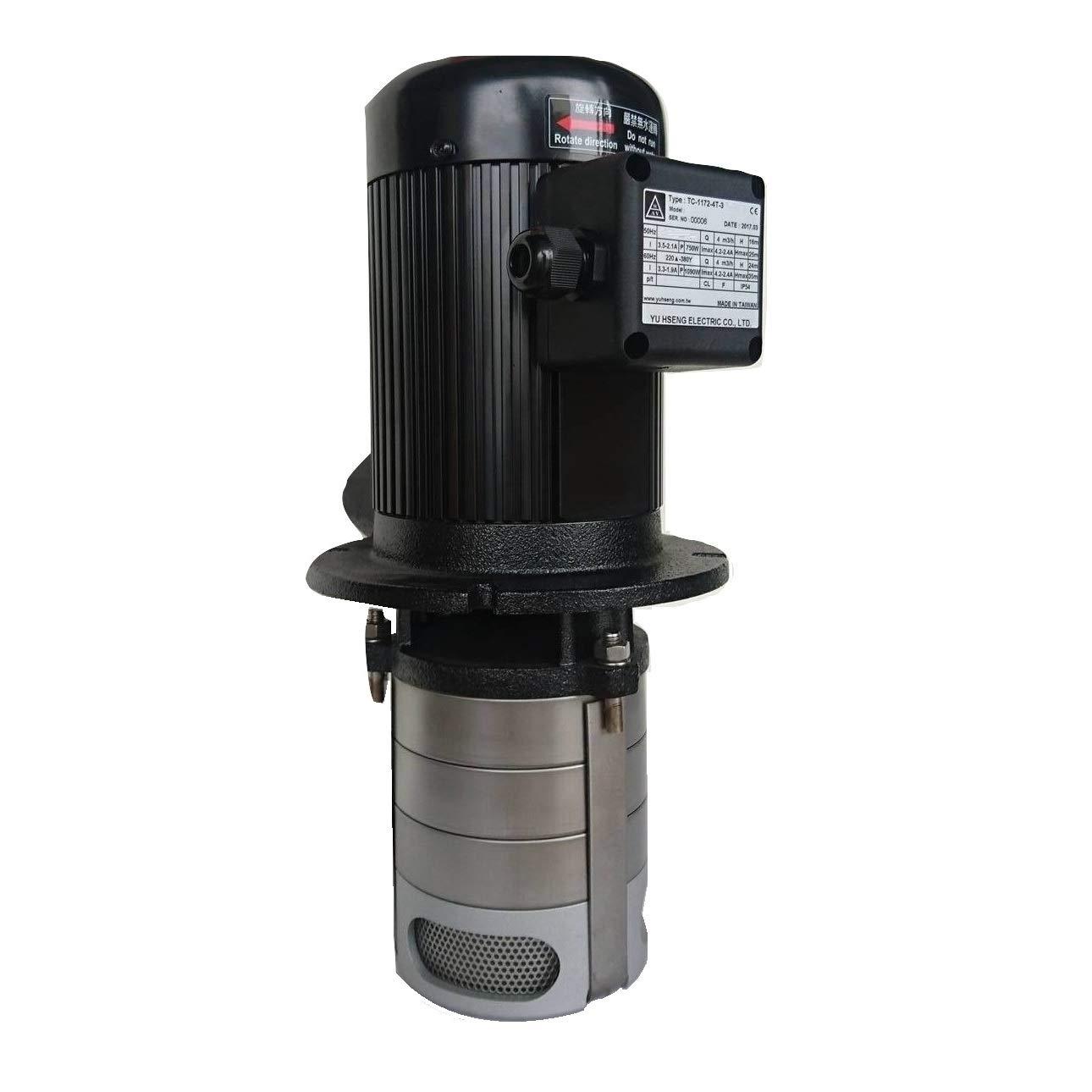 CNC Max 73% OFF Lathe Multi-Stage Circulation Coolant 750W 1HP Award-winning store imp 3 Pump
