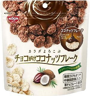 日清シスコ チョコがけココナッツフレーク 40g ×12袋