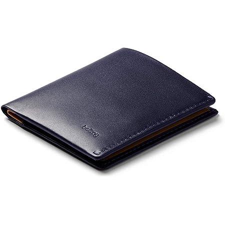 Bellroy Note Sleeve, Cartera de Piel Slim, edición con protección RFID Disponible (Máx. 11 Tarjetas, Efectivo y Monedas) - Navy - RFID