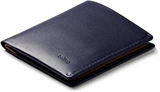 Bellroy Note Sleeve, Slim Leather Wallet, RFID Editions Available (Max. 11 Cards, Bills and Coins) - Navy - RFID