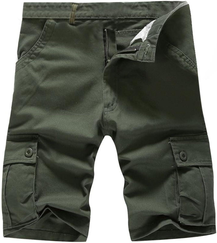 Ximandi Military Cargo Bermuda Shorts, Loose Shorts Casual Trousers Size 29-44
