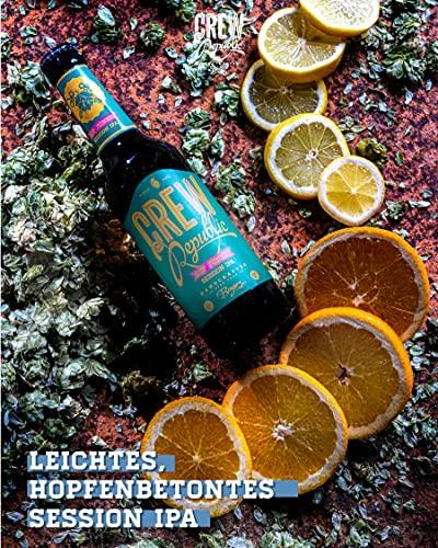 CREW Republic® Craft Bier Hop Junkie, Session IPA | World Beer Awards Gewinner Session IPA 2020 | Bierspezialität aus Bayern nach deutschem Reinheitsgebot (20 x 0,33 l) - 2