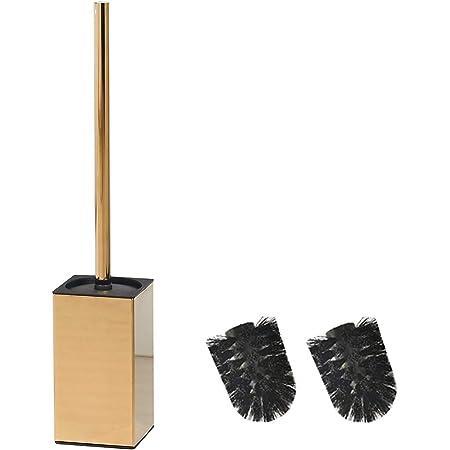 bgl Support carré en acier inoxydable 304 pour brosse WC (doré)